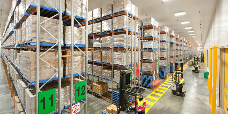 State logistics for Warehouse design software